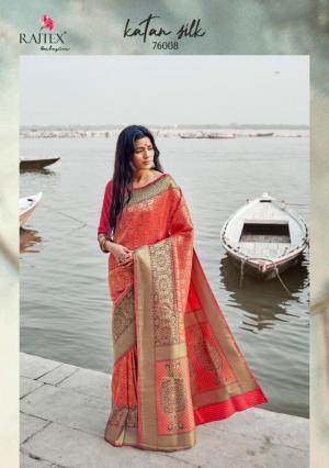 Rajtex Saree Katan Silk 76008