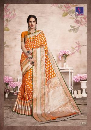 Shangrila Saree Aashna Silk 5446