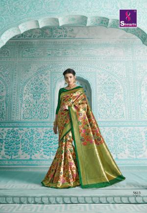 Shangrila Saree Paithani 5613