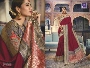 Shangrila Saree Manyavar Silk 8503