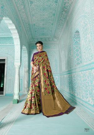 Shangrila Saree Paithani 5614