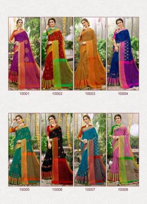 Triveni Saree Veerangana 10001-10008