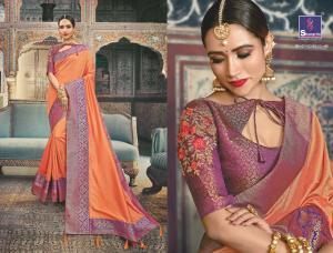Shangrila Saree Manyavar Silk 8510