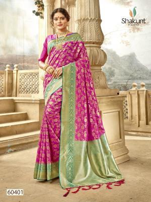 Shakunt Saree Meenal 60401