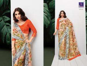 Shangrila Saree Rayesha Cotton 4908