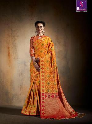 Shangrila Saree Saanvi Silk 5433