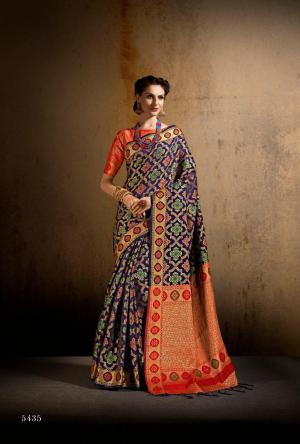 Shangrila Saree Saanvi Silk 5435