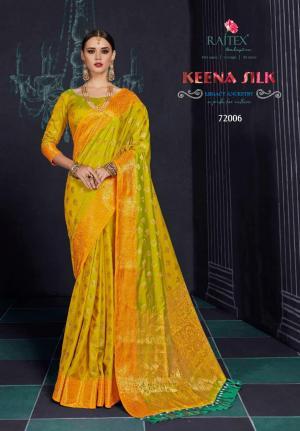 Rajtex Saree Keena Silk 72006