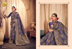 Raj Sanskar Queen Brocade Silk 610