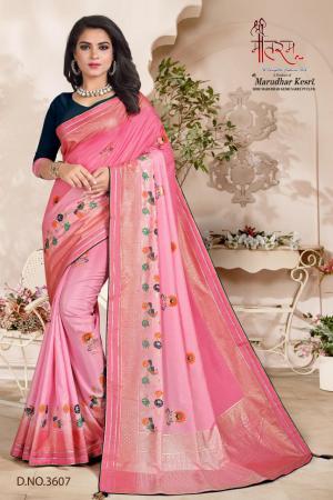 Shree Maataram Rajwadi Silk 3607