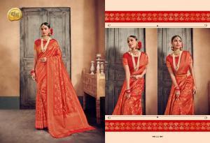 Raj Sanskar Queen Brocade Silk 602
