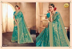 Raj Sanskar Queen Brocade Silk 607