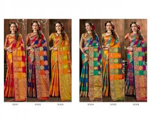 Triveni Saree Sushmita 30301-30306