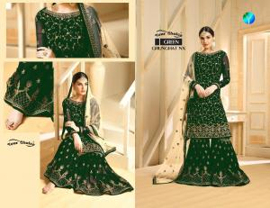 Your Choice Ghunghat NX 3103 Green