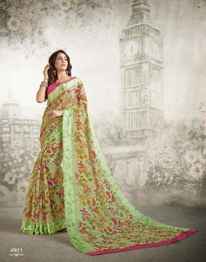 Shangrila Saree Kanchan 4921