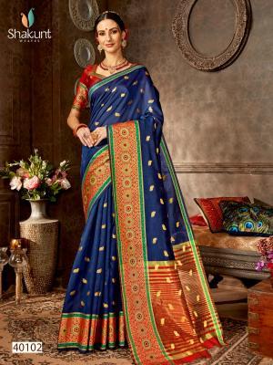 Shakunt Saree Nirmit 40102