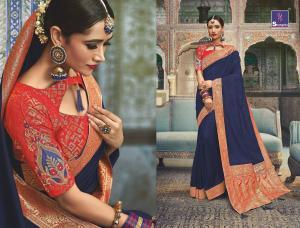 Shangrila Saree Manyavar Silk 8502