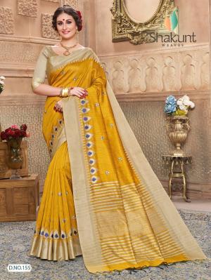 Shakunt Saree Saadhvi 155