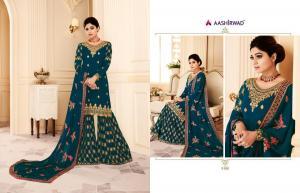 Aashirwad Creation Gulkand Shamita Sarara 8166