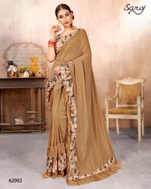 Saroj Saree HotLady 62002