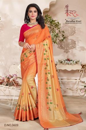 Shree Maataram Rajwadi Silk 3609