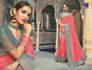 Shangrila Saree Manyavar Silk 8508