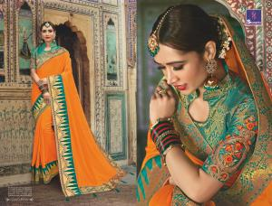 Shangrila Saree Manyavar Silk 8506