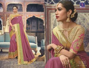 Shangrila Saree Manyavar Silk 8509