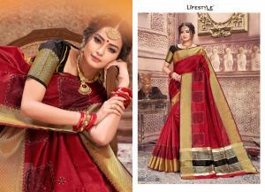 Lifestyle Saree Shubh Laxmi 60185