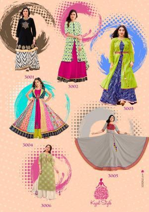 Kajal Style Fashion Lakme 3001-3006
