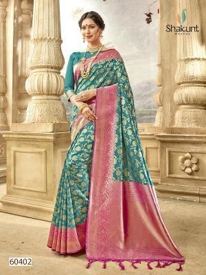 Shakunt Saree Meenal 60402