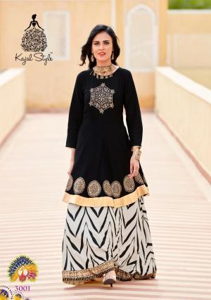 Kajal Style Fashion Lakme 3001