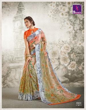 Shangrila Saree Kanchan 4923