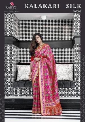 Rajtex Saree Kalakari Silk 107002