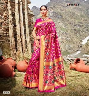 Lifestyle Saree Shivalika 60906