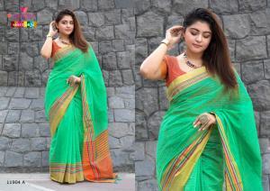 Varsiddhi Fashions Mintorsi Keshar Cotton 11904 A