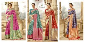 Shakunt Saree Meenal 60401-60404