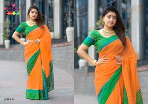 Varsiddhi Fashions Mintorsi Keshar Cotton 11905 B
