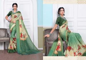 Designer Printed Saree 4005