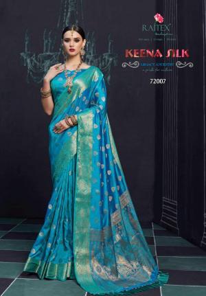 Rajtex Saree Keena Silk 72007