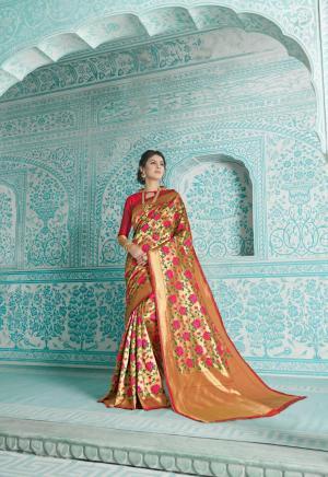 Shangrila Saree Paithani 5612