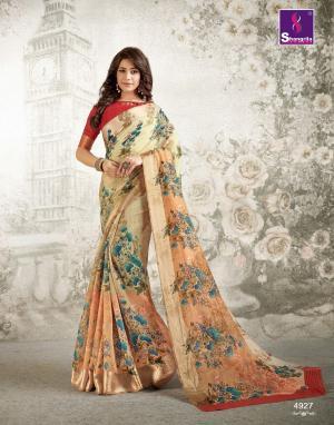 Shangrila Saree Kanchan 4927