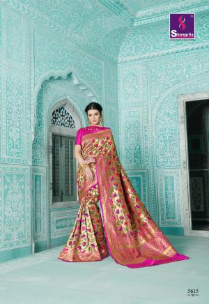 Shangrila Saree Paithani 5615