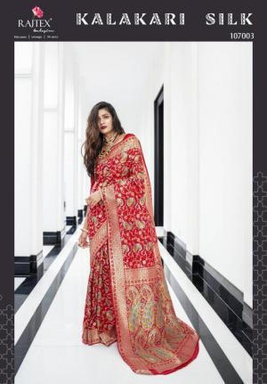 Rajtex Saree Kalakari Silk 107003