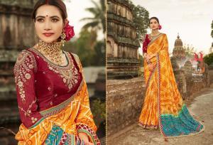 Kessi Fabrics Bandhej 1037