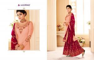 Aashirwad Creation Gulkand Shamita Sarara 8167