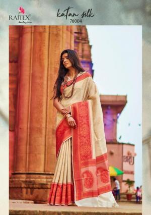 Rajtex Saree Katan Silk 76004