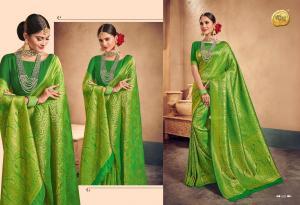 Raj Sanskar Queen Brocade Silk 605