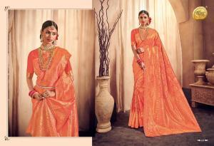 Raj Sanskar Queen Brocade Silk 604