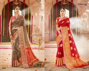 Lifestyle Saree Kavita 54585-54586